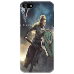 "Чехол для iPhone 5 ""Vikings"" - викинги, vikings, lathgertha"