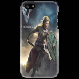 "Чехол для iPhone 5 ""Vikings"" - vikings, lathgertha, викинги"