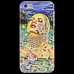 "Чехол для iPhone 5 ""Русалка"" - девушка, фэнтези, русалка"