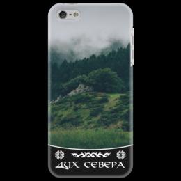 """Чехол для iPhone 5 """"Дух Севера"""" - лес, природа, север, дух севера"""