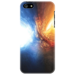 "Чехол для iPhone 5 ""Fire and Ice"""