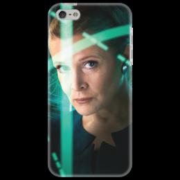 """Чехол для iPhone 5 """"Звездные войны - Лея"""" - звездные войны, фантастика, кино, дарт вейдер, star wars"""