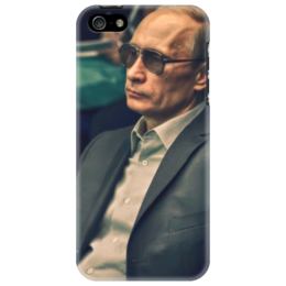 "Чехол для iPhone 5 ""Vladimir Vladimirovich Putin"" - путин, владимир, президент, россия, москва"