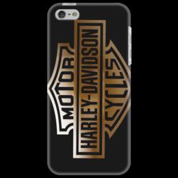 "Чехол для iPhone 5 ""Harley-Davidson"" - harley-davidson, харли-дэвидсон, чоппер"