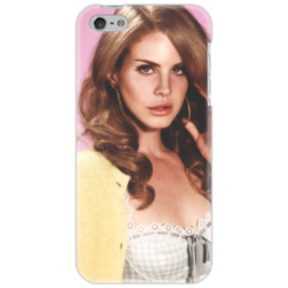 """Чехол для iPhone 5 """"Лана Дель Рей"""" - лана, лана дель рей"""