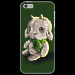 """Чехол для iPhone 5 """"Овечка"""" - новый год, new year, sheep, 2015, овечка"""