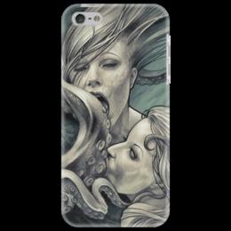 "Чехол для iPhone 5 ""oktopuslove"" - арт, sex"