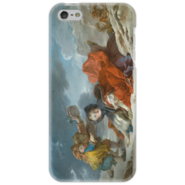 "Чехол для iPhone 5 ""Зима (Картина Фрагонара)"" - картина, фрагонар"