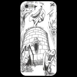 """Чехол для iPhone 5 """"The wall"""" - legend, пинк флойд, pink floyd, прогрессивный рок, acid rock"""