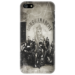 "Чехол для iPhone 5 ""S O A"" - sons of anarchy, drama, сыны анархии, crime, криминальная драма"