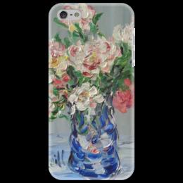 """Чехол для iPhone 5 """"Пионы"""" - весна, девушке, цветочки, аромат"""