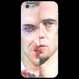 """Чехол для iPhone 5 """"Бойцовский клуб """" - арт, фильм, оригинально, иллюстрация, мужской, бойцовский клуб, the pixies, placebo"""