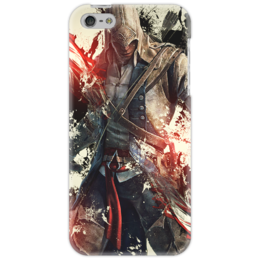 "Чехол для iPhone 5 ""assassin's creed IV"" - assassins creed, прикольные, оригинально, black flag, assassin's creed"