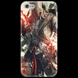 """Чехол для iPhone 5 """"assassin's creed IV"""" - assassins creed, прикольные, оригинально, assassin's creed, black flag"""