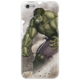 "Чехол для iPhone 5 ""Халк Hulk"" - iphone, комикс, hulk, marvel, чехол, халк, зеленое чудовище"