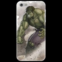 """Чехол для iPhone 5 """"Без названия"""" - iphone, комикс, hulk, marvel, чехол, халк, зеленое чудовище"""