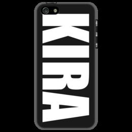"""Чехол для iPhone 5 """"с именем Кира"""" - кира, чехол с именем, чехол с именем кира"""