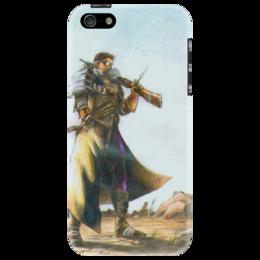 """Чехол для iPhone 5 """"FallOut чехол"""" - арт, стиль, популярные, в подарок, оригинально"""