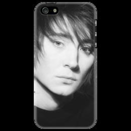 """Чехол для iPhone 5 """"Земфира"""" - музыка, земфира"""