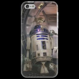 """Чехол для iPhone 5 """"Звездные войны - R2-D2"""" - звездные войны, фантастика, кино, дарт вейдер, star wars"""