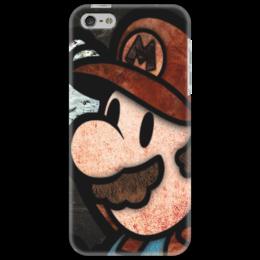 """Чехол для iPhone 5 """"Mario"""" - в подарок, оригинально, nintendo, mario bros"""