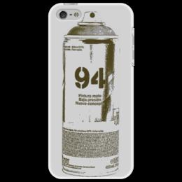 "Чехол для iPhone 5 ""MTN94"" - арт, граффити, чехол, баллон, монтана"