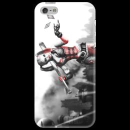 "Чехол для iPhone 5 ""Харли Квинн"" - девушка, карты, комикс, мульт, харли"
