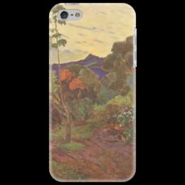"""Чехол для iPhone 5 """"Тропические растения"""" - картина, поль гоген"""