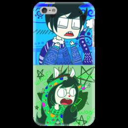"Чехол для iPhone 5 ""John and Jade"" - арт, homestuck, john, jade"