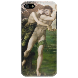"Чехол для iPhone 5 ""Филлис и Демофонт (Phyllis and Demophoon)"" - картина, бёрн-джонс"