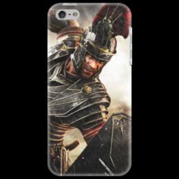 """Чехол для iPhone 5 """"Римская Империя"""" - история, путь воина, гесс, римская империя"""