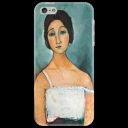 "Чехол для iPhone 5 ""Кристина"" - картина, модильяни"