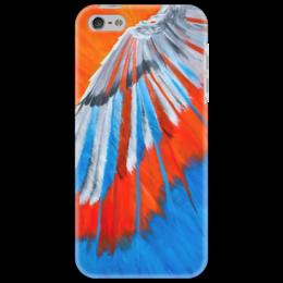 """Чехол для iPhone 5 """"Полет 5"""" - новый год, рисунок, bright, крыло, wing"""