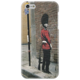"Чехол для iPhone 5 ""Banksy"" - арт, banksy, street, бенкси, стрит, граффити"