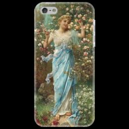"""Чехол для iPhone 5 """"Дары Флоры"""" - картина, зацка"""