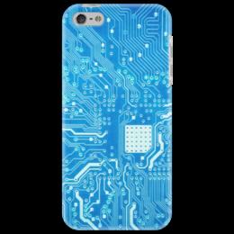 """Чехол для iPhone 5 """"Системная плата"""" - плата, система, системная плата"""