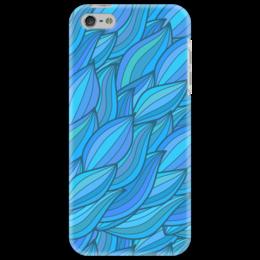 "Чехол для iPhone 5 ""Волны"" - арт, узор, волны, дудл"