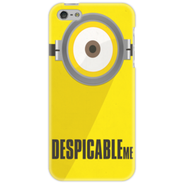 "Чехол для iPhone 5 ""Гадкий я"" - глаз, iphone, дизайн, желтый, гадкий, чехол, миньон, гадкий я, despicable me, minion"