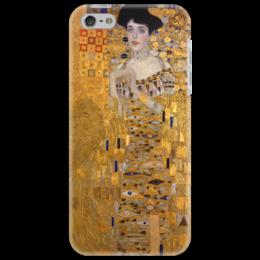 """Чехол для iPhone 5 """"Портрет Адели Блох-Бауэр I"""" - картина, климт"""