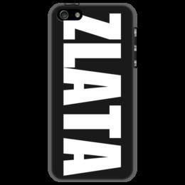 """Чехол для iPhone 5 """"с именем Злата"""" - чехол с именем, чехол с именем злата, злата"""