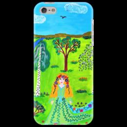 """Чехол для iPhone 5 """"Мир волшебства"""" - ручная работа, детский рисунок, от детей, детская работа"""
