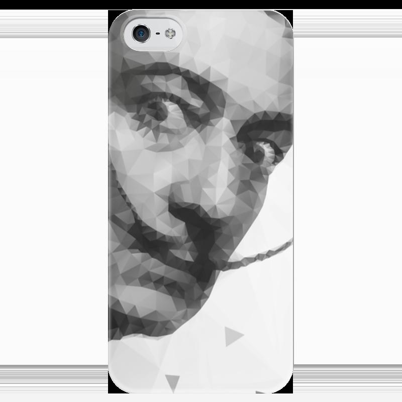 Чехол для iPhone 5 глянцевый, с полной запечаткой Printio Сальвадор дали подушка 60х40 с полной запечаткой printio сальвадор дали