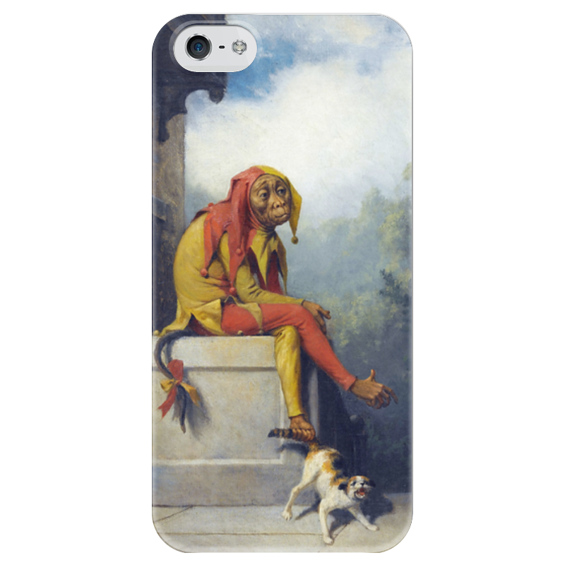 Чехол для iPhone 5 глянцевый, с полной запечаткой Printio For what was i created?