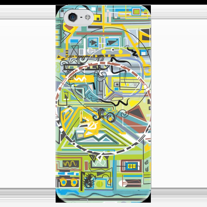 Чехол для iPhone 5 глянцевый, с полной запечаткой Printio Березка чехол для iphone 5 глянцевый с полной запечаткой printio икс 23 лора кинни