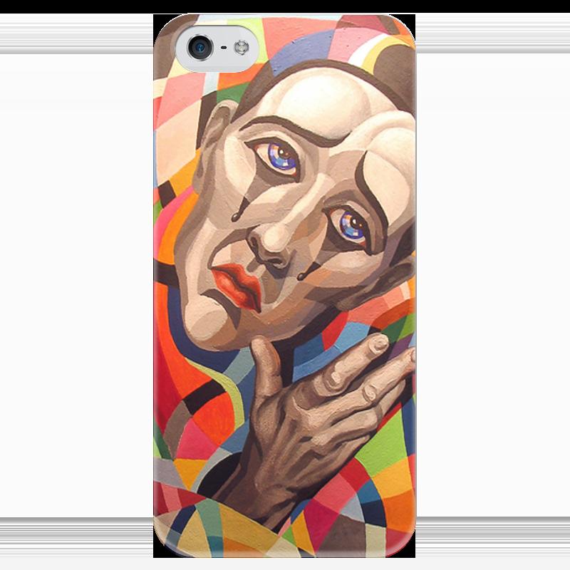 Чехол для iPhone 5 глянцевый, с полной запечаткой Printio Мужчина чехол для iphone 5 глянцевый с полной запечаткой printio ember spirit dota 2