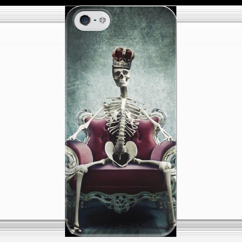 Чехол для iPhone 5 глянцевый, с полной запечаткой Printio Королева чехол для iphone 5 глянцевый с полной запечаткой printio анютины глазки