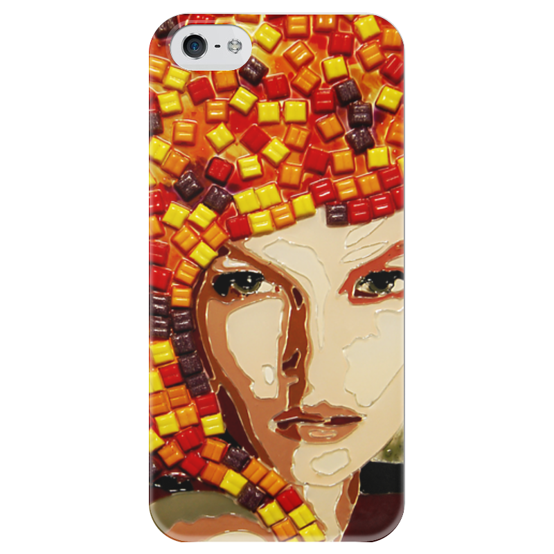 Чехол для iPhone 5 глянцевый, с полной запечаткой Printio Beauty beauty image баночка с воском с маслом оливы 800гр