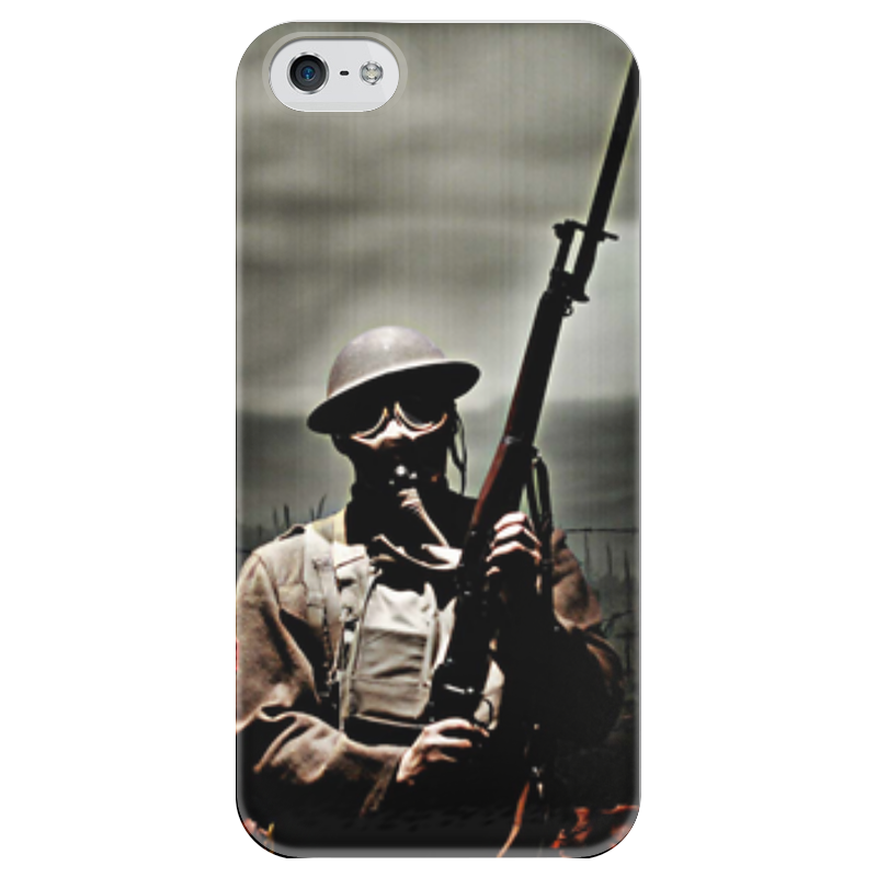 Чехол для iPhone 5 глянцевый, с полной запечаткой Printio Война чехол для iphone 5 глянцевый с полной запечаткой printio ember spirit dota 2