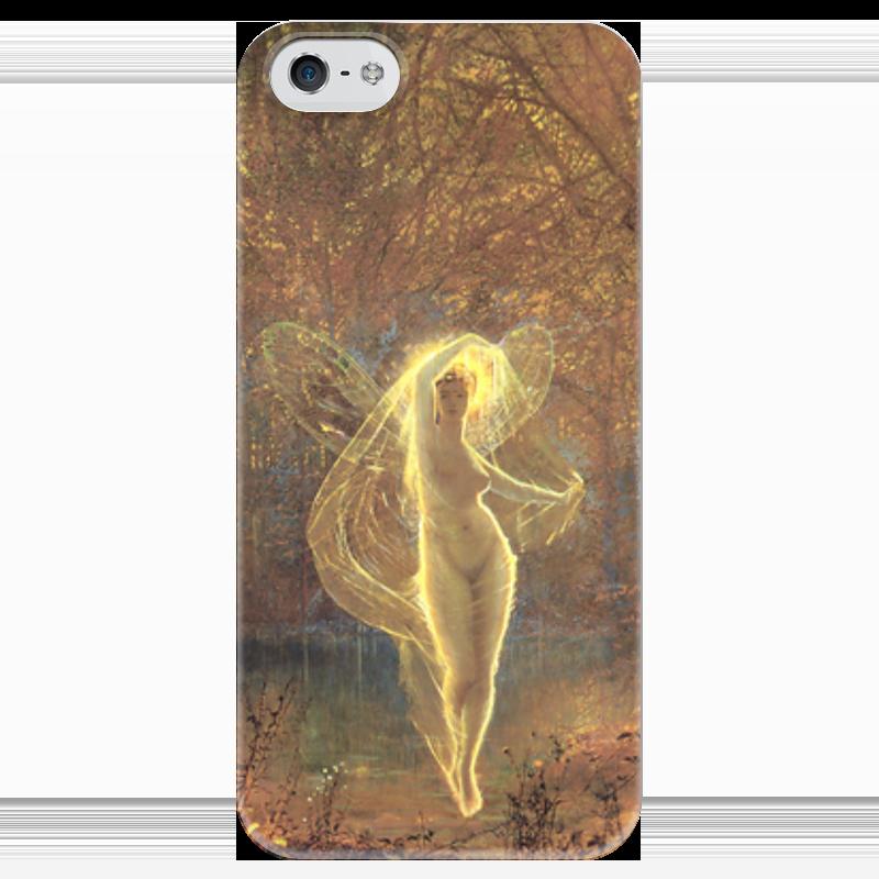 Чехол для iPhone 5 глянцевый, с полной запечаткой Printio Осень (autumn) чехол для iphone 5 с подставкой с полной запечаткой printio осень
