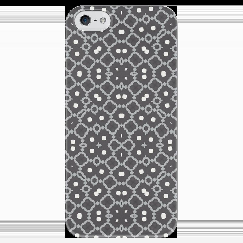 Чехол для iPhone 5 глянцевый, с полной запечаткой Printio Returnal чехол для iphone 5 глянцевый с полной запечаткой printio spinner mobile white спиннер чехол